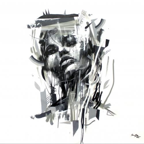 Branca - 110x110cm